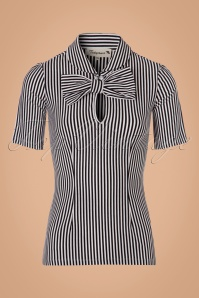 Tatyana Striped Bow Top 111 14 24686 20180221 0002w