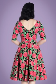 Bunny Roses Swing Dress 102 14 24046 02