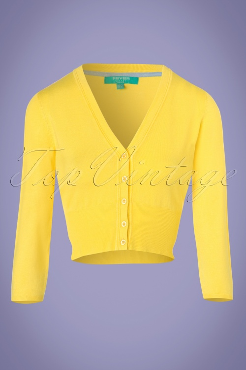 Fever Yellow Cardigan 140 80 24239 20180221 0002W