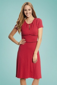 Vive Maria Lucky Star Red Polkadot Dress 106 27 25135 2