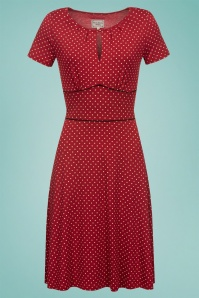 Vive Maria Lucky Star Red Polkadot Dress 106 27 25135 1W