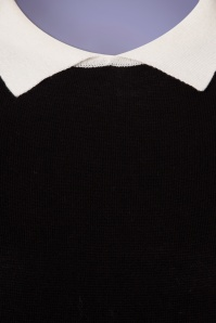 Mak Sweater Black and Ivory Shirt 113 10 24923 20180222 0005W