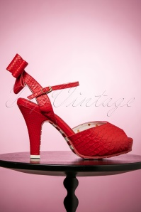 Lola Ramona Angie Peeptoe in Red 403 20 23584 20022018 003aW