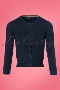 Mak Sweater Navy Cardigan 140 31 24937 20180222 0002W