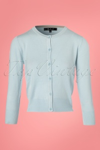 Mak Sweater Light Blue Cardigan 140 30 24939 20180222 0002W
