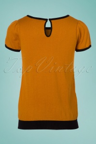 Mak Sweater Black and Orange Heart Shirt 113 80 24927 20180222 0003W
