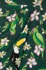 Collectif Clothing Kala Tropical Bird Sarong Skirt in Green 22801 20171120 0007