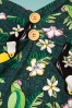 Collectif Clothing Dolores Tropical Bird Doll Dress in Green 22780 20171120 0006W