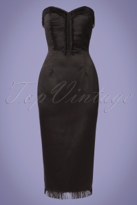 Collectif Clothing Loren Pencil Dress in Black 22842 20171121 0001W
