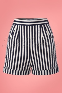 Collectif Clothing Ayana Striped Shorts 22797 20171120 0001W