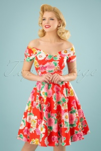 Bunny Marguerita 50s Swing Dress 102 28 24052 20180115 0018w