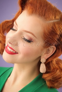 Glamfemme Nude Earrings 333 22 24987 03032014 001W