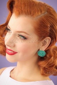 Glamfemme Turquoise Earrings 330 30 24982 03032014 001W