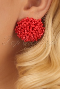 Glamfemme Red Earrings 330 20 24980 03032014 002W