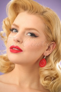 Glamfemme Red Earrings 333 27 24978 03032014 001W