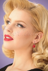 Glamfemme Red Earrings 333 20 24979 03032014 001W