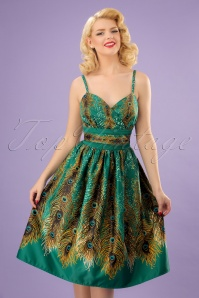 Vixen Hattie Peacock Summer Dress 102 49 23213 20180224 0008W