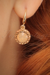 Glamfemme Peach Earrings 333 22 24971 03032014 002W