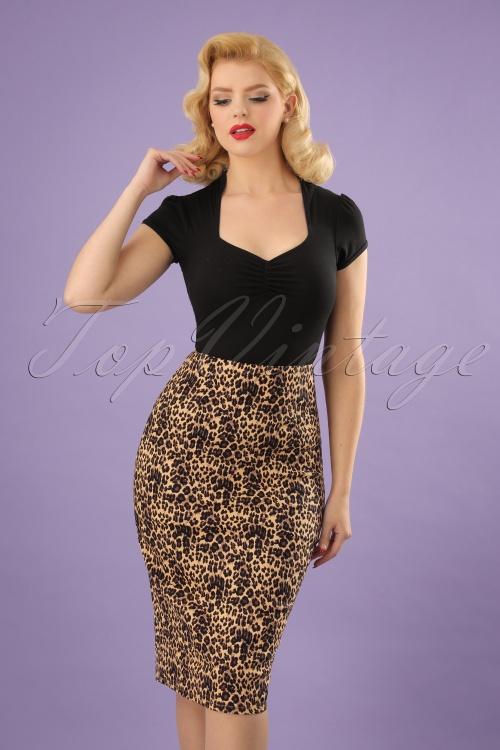 Vixen Izzy Leopard Pencil Skirt 120 79 23225 20180118 0002W (2)