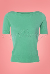 King Louie Audrey Top in Mint Green 23181 20171220 0002W