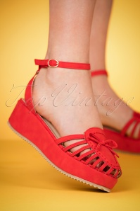 Banned Red Sandals 420 20 24133 model 28022018 005W