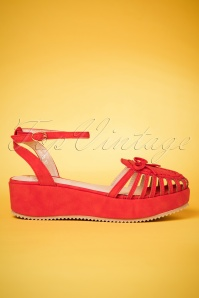 Banned Red Sandals 420 20 24133 26022018 002W