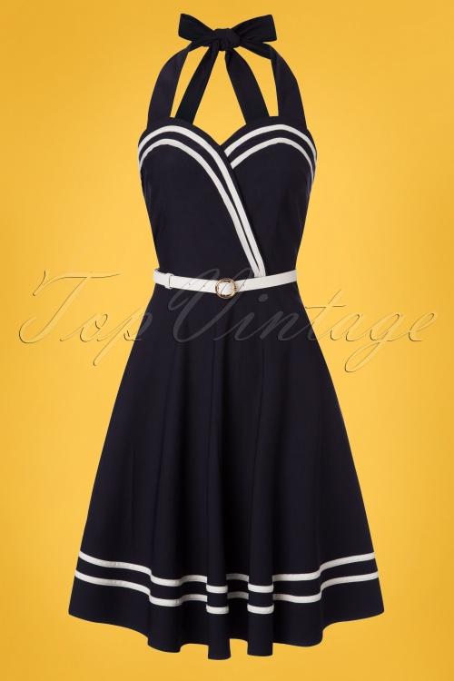 645b630e6bba Vixen Charlotte Nautical Sailor Dress 102 31 2304 20180227 0002W