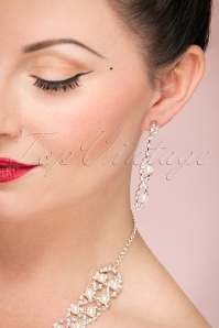 Collectif Silver Diamante Jewellery Set 300 92 24378 17112017 003W