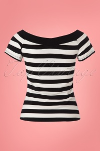 Bunny Caitlin Striped Top 111 14 24064 20180228 0002W