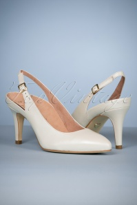 Tamaris White Pumps 400 50 23986 27022018 104W