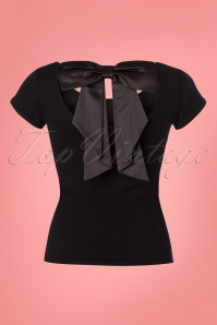 Bunny Black Celine Bow Top 111 10 24074 20180228 0002W