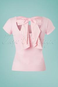 Bunny Pink Celine Bow Top 111 22 24073 20180228 0002W