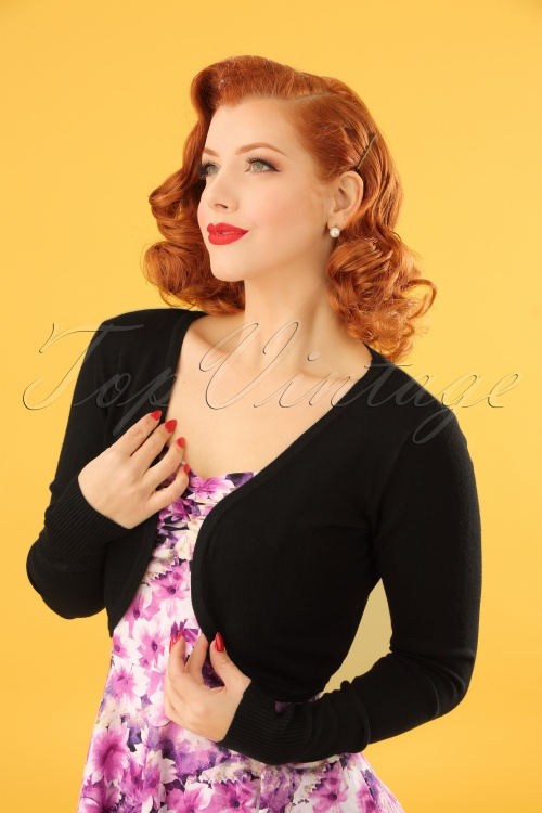 Banned  Swallow Bolero Black 141 10 12789 20140224 0006W