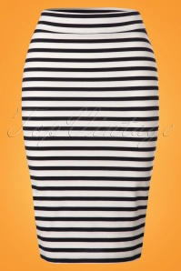 Le Pep Striped Pencil Skirt 120 39 23325 20180228 0002W
