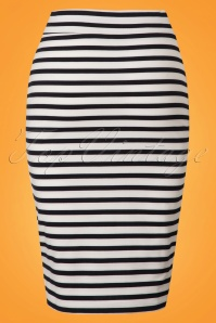 Le Pep Striped Pencil Skirt 120 39 23325 20180228 0001W