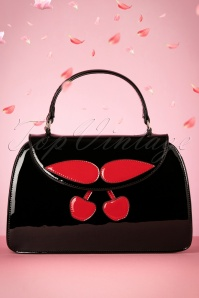 Collectif Black Cherry Handbag 212 10 24343 21112017 001W