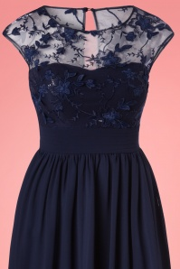 Bunny Chiffon Lace Blue Dress 102 31 25133 20180228 0001V