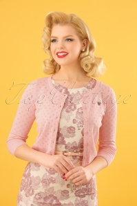 60s Wonderwaist Cardigan in Rose
