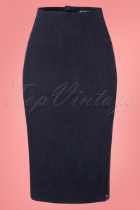 Danefae Zia Skirt in Denim 120 30 23521 20180115 0003w