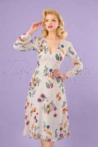 Traffic People Mama Mia White Floral Dress 102 59 23602 20180124 0012W