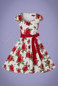 Bunny Lorene Roses Swing Dress 102 59 24712 20180305 0008w