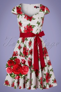 Bunny Lorene Roses Swing Dress 102 59 24712 20180305 0007wv