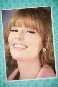 Collectif Seashell Earrings 330 50 24362 22112017 004W