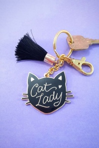 Little Arrow Black Cat Keychain 290 14 24743 02