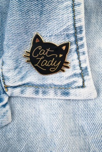Little Arrow cat lady black pin 340 14 24740 02