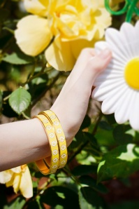 Little Arrow daisies bangle bracelet 310 89 24749 02