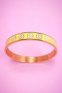Little Arrow daisies bangle bracelet 310 89 24749 01