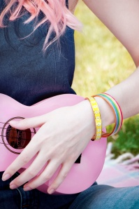 Little arrow rainbow bangle bracelet 310 90 24748 02