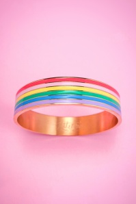 Little arrow rainbow bangle bracelet 310 90 24748 01