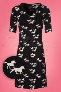 Tante Betsy Black Pony Horse Dress 106 14 23526 20180305 0001W1